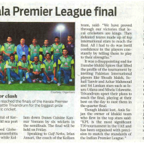 Stage Set for KPL Dubai Season 3 Final-Gulf News