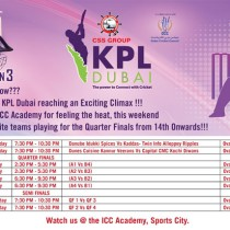 CSS Group KPL Dubai reaching an Exciting Climax