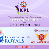 KPL Dubai Season 3 reaches the FINAL DAY